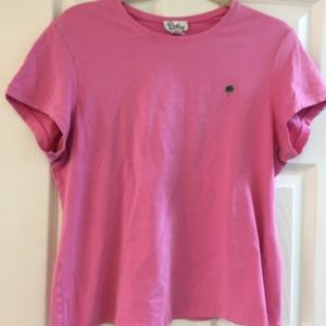 Lilly short sleeved t-shirt, size XL, in pink